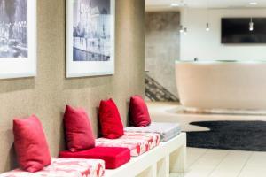 Hapimag Resort Paris tesisinde bir oturma alanı