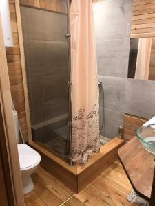 Ванная комната в Orange Juice Apartment