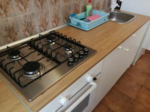 A kitchen or kitchenette at Apartments Buneta