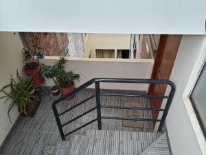 Un balcón o terraza de Apartment home