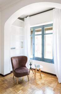 A seating area at Apartamento Fajardo