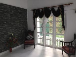 A seating area at villa eleven