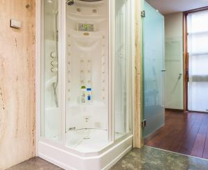 A bathroom at Santa Marta