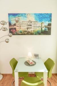 Eetgedeelte in het appartement