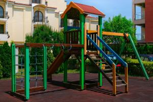 Children's play area at Apart-Hotel Onegin & SPA