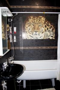 A bathroom at Apartment on Molodezhnaya 7