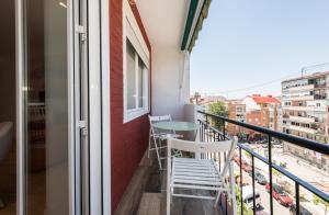 A balcony or terrace at Apartamento Arteaga