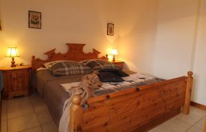Un ou plusieurs lits dans un hébergement de l'établissement Haus Franz by ISA AGENTUR