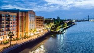 Hotel Savannah Marriott Riverfront Ga Booking Com