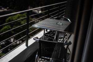 A balcony or terrace at Austral Suites
