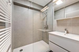 Ein Badezimmer in der Unterkunft Apartment Mighi 02.02