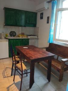 A kitchen or kitchenette at Noda Apart