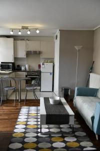Cuisine ou kitchenette dans l'établissement Studio Saint Louis