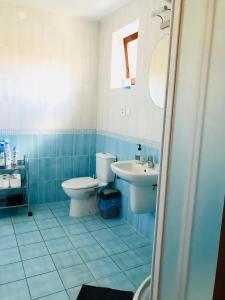Koupelna v ubytování Villa CC