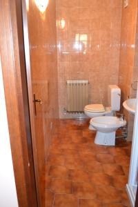 A bathroom at Terrazza sul Lago
