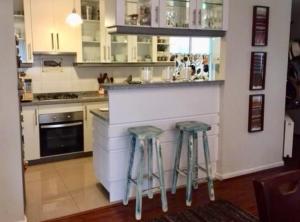 A kitchen or kitchenette at Departamento Santo Domingo