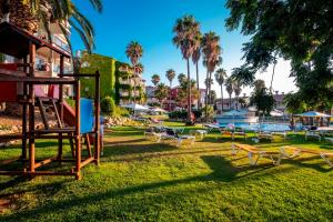 Children's play area at Aparthotel HG Jardin de Menorca