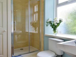 A bathroom at Church Cottage