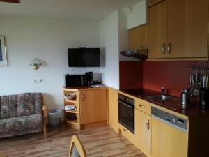 Küche/Küchenzeile in der Unterkunft Haus Salzachblick