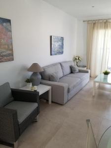 A seating area at Villa Rubi
