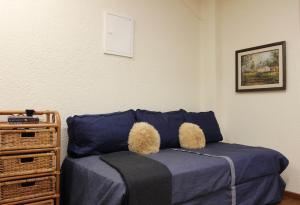 Cama o camas de una habitación en Apartamento en Plaza Independencia