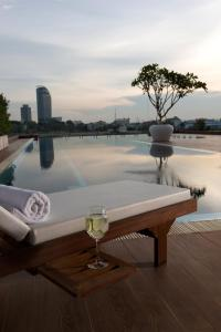 The swimming pool at or near Bellevue Serviced Apartments