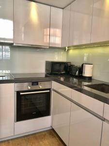 A kitchen or kitchenette at Luxury Apartments in Westminster