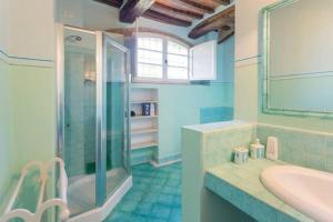 A bathroom at Casa Grande