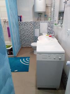 Ванная комната в Apartment on Stadionnyy 3
