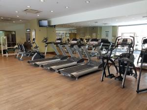 The fitness center and/or fitness facilities at KL Diamond Suites @times Square