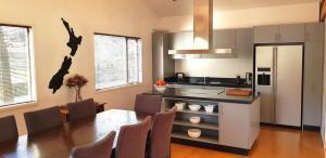 聖詹姆斯公寓式酒店廚房或簡易廚房