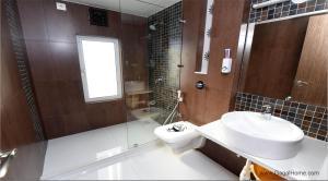 A bathroom at 2 BHK Service apartment in Borivali/kandivali east
