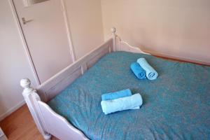 Ein Bett oder Betten in einem Zimmer der Unterkunft Beach House Sea-Esta