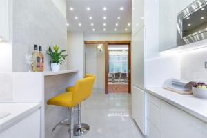 Kuchnia lub aneks kuchenny w obiekcie CityPark Deluxe Apartment
