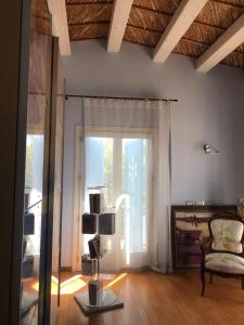 A seating area at Casa Padronale