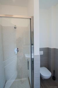 A bathroom at Santa Caterina