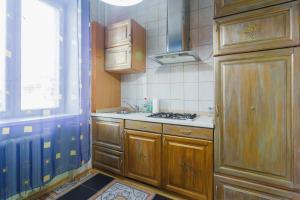 Køkken eller tekøkken på Apartment near Gulliver
