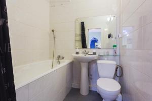 Et badeværelse på Apartment near Gulliver