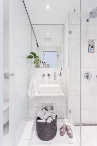 法蘭克福古特魯大街美景公寓衛浴