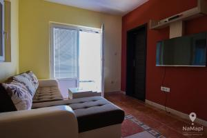 A seating area at Apartman Petkovic
