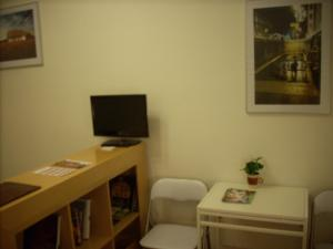 A television and/or entertainment center at Apartman7