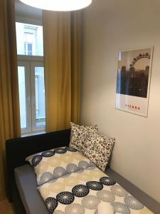 A bed or beds in a room at Ferienwohnung Antonina