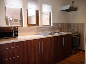 A kitchen or kitchenette at Casas Turismo Magallanes