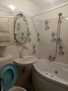 A bathroom at Magic Spot