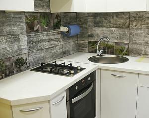 Virtuvė arba virtuvėlė apgyvendinimo įstaigoje Apartments Victoria