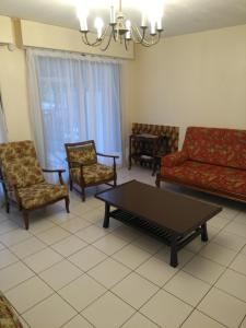 A seating area at Appartements Blonville Centre (2 ou 3 chambres)