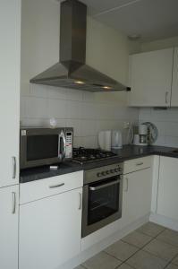 Кухня или мини-кухня в Wetterkantwoning