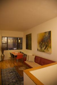 The lounge or bar area at 36th Street Midtown East Luxury Duplex Apartment
