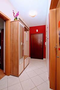 A bathroom at Apartman Della