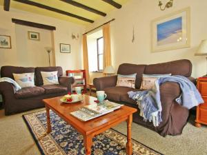 A seating area at Long Barn Cottage, Penzance